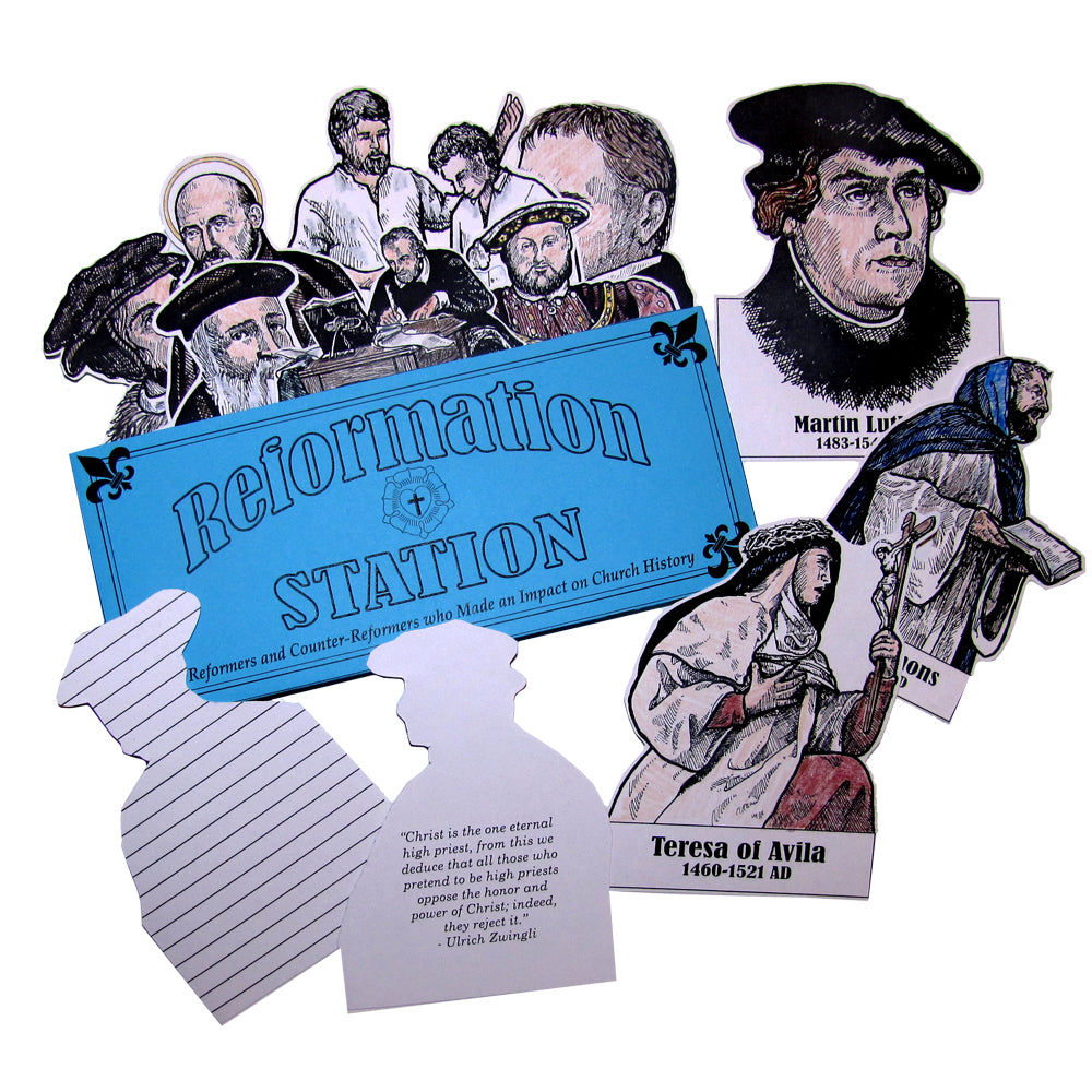 Reformation Station Lap Book Project