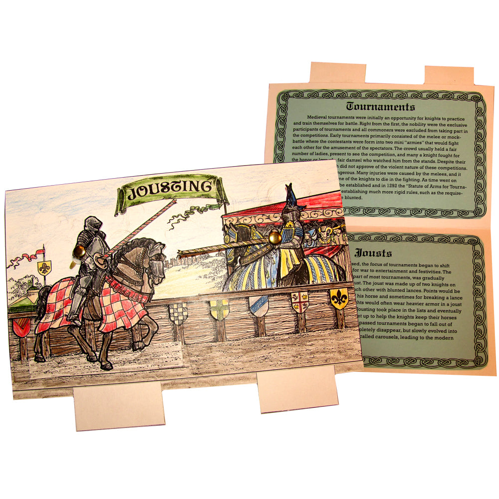Jousting Lap Book Project