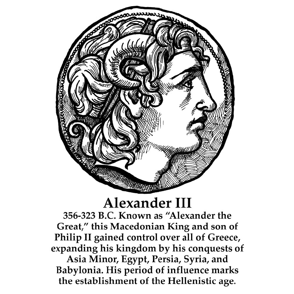Alexander III (The Great) Timeline Figure (With Text)
