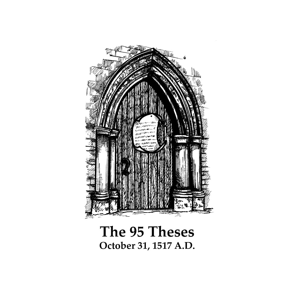 The 95 Theses (Without Text)