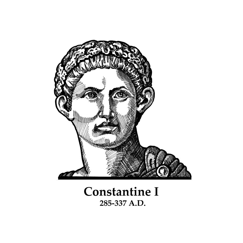 Constantine I (The Great) Timeline Figure (Without Text)