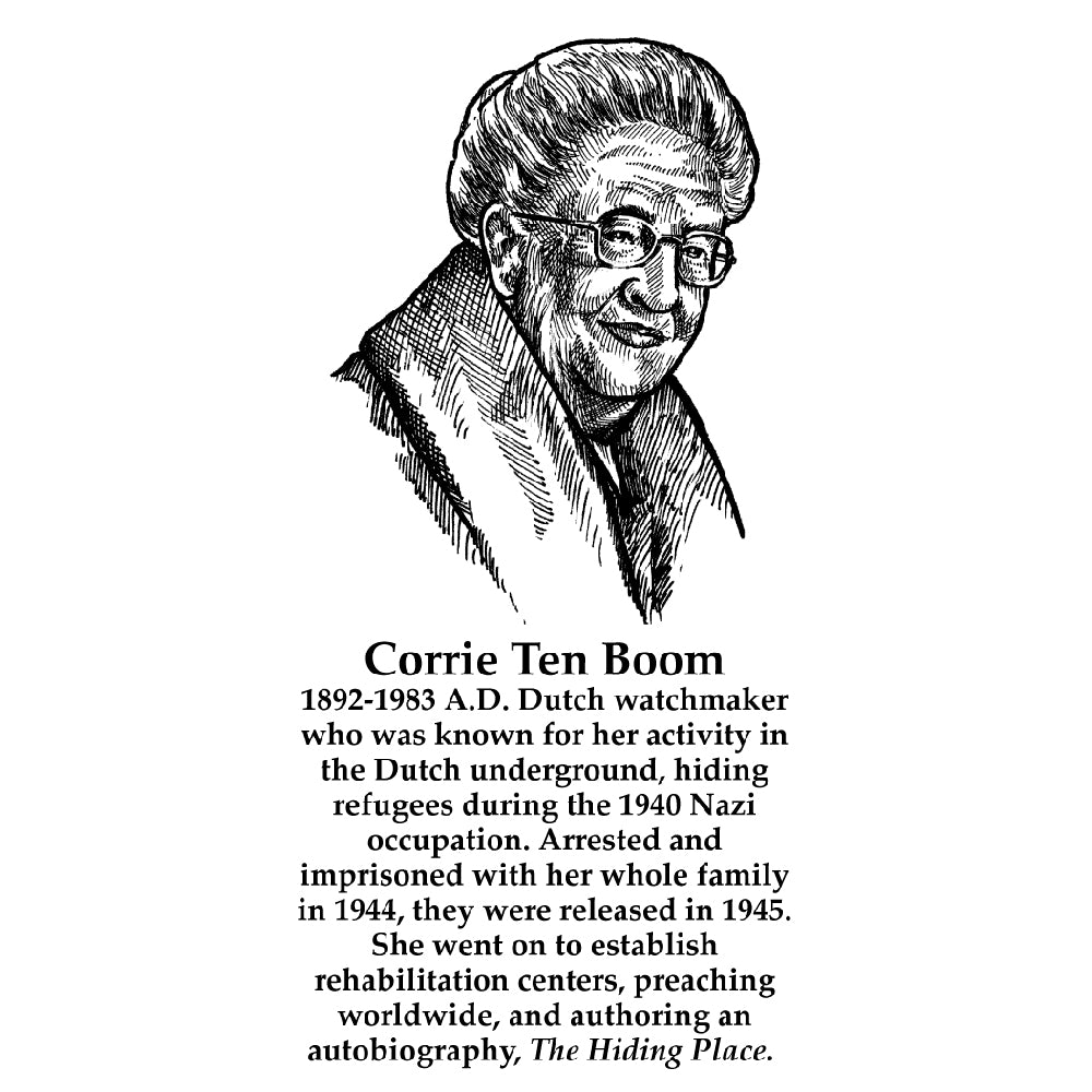 Corrie Ten Boom Timeline Figure (With Text)