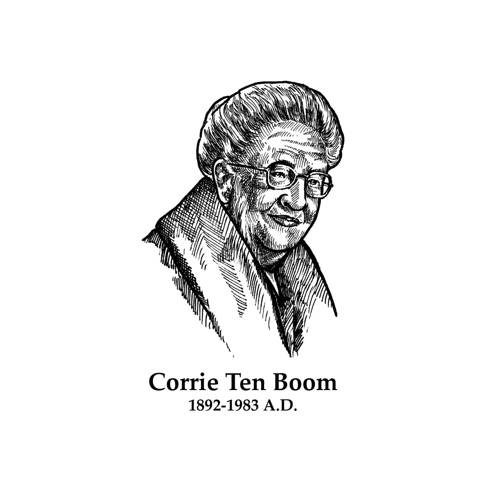 Corrie Ten Boom Timeline Figure (Without Text)