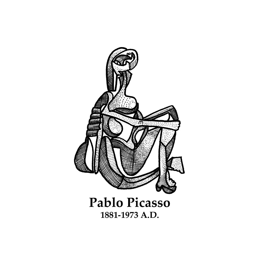 Pablo Picasso Timeline Figure (Without Text)