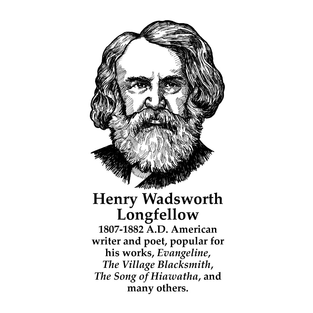 Henry Wadsworth Longfellow Timeline Figure (With Text)