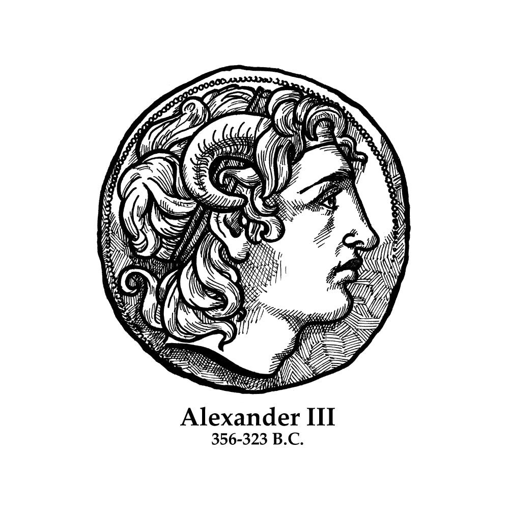 Alexander III (The Great) Timeline Figure (Without Text)