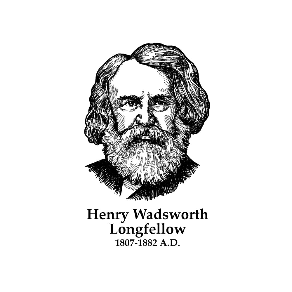 Henry Wadsworth Longfellow Timeline Figure (Without Text)