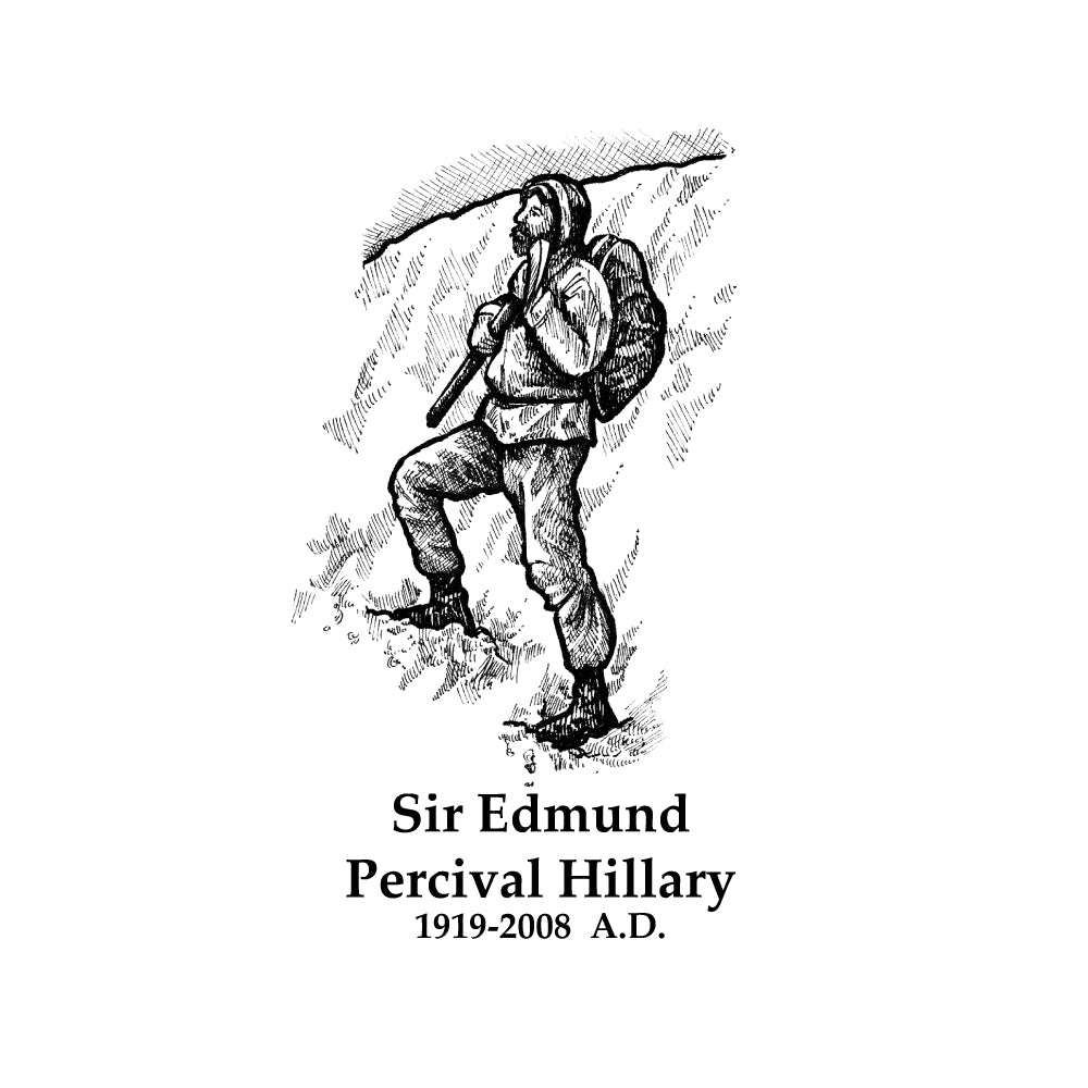 Sir Edmund Percival Hillary Timeline Figure (Without Text)