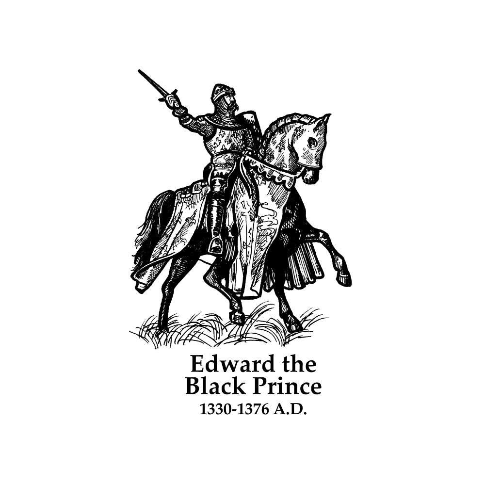 Edward the Black Prince Timeline Figure (Without Text)