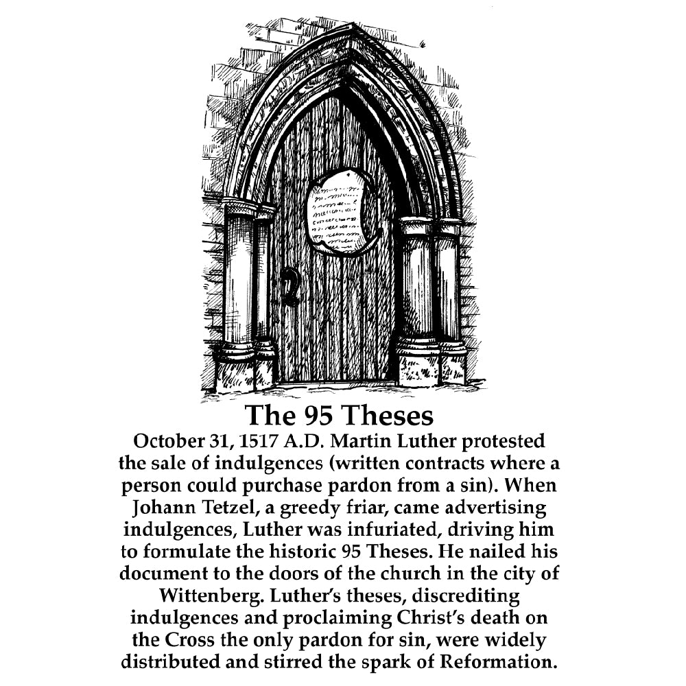 The 95 Theses (With Text)