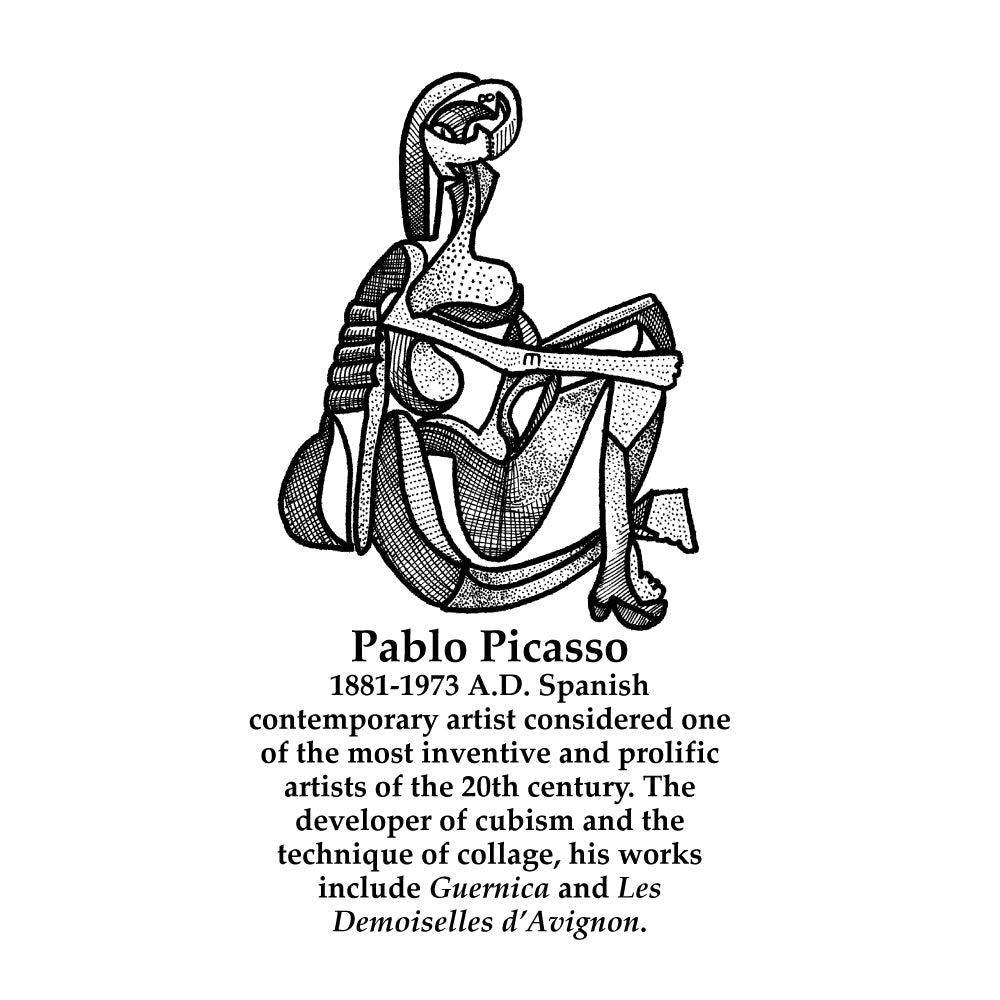 Pablo Picasso Timeline Figure (With Text)
