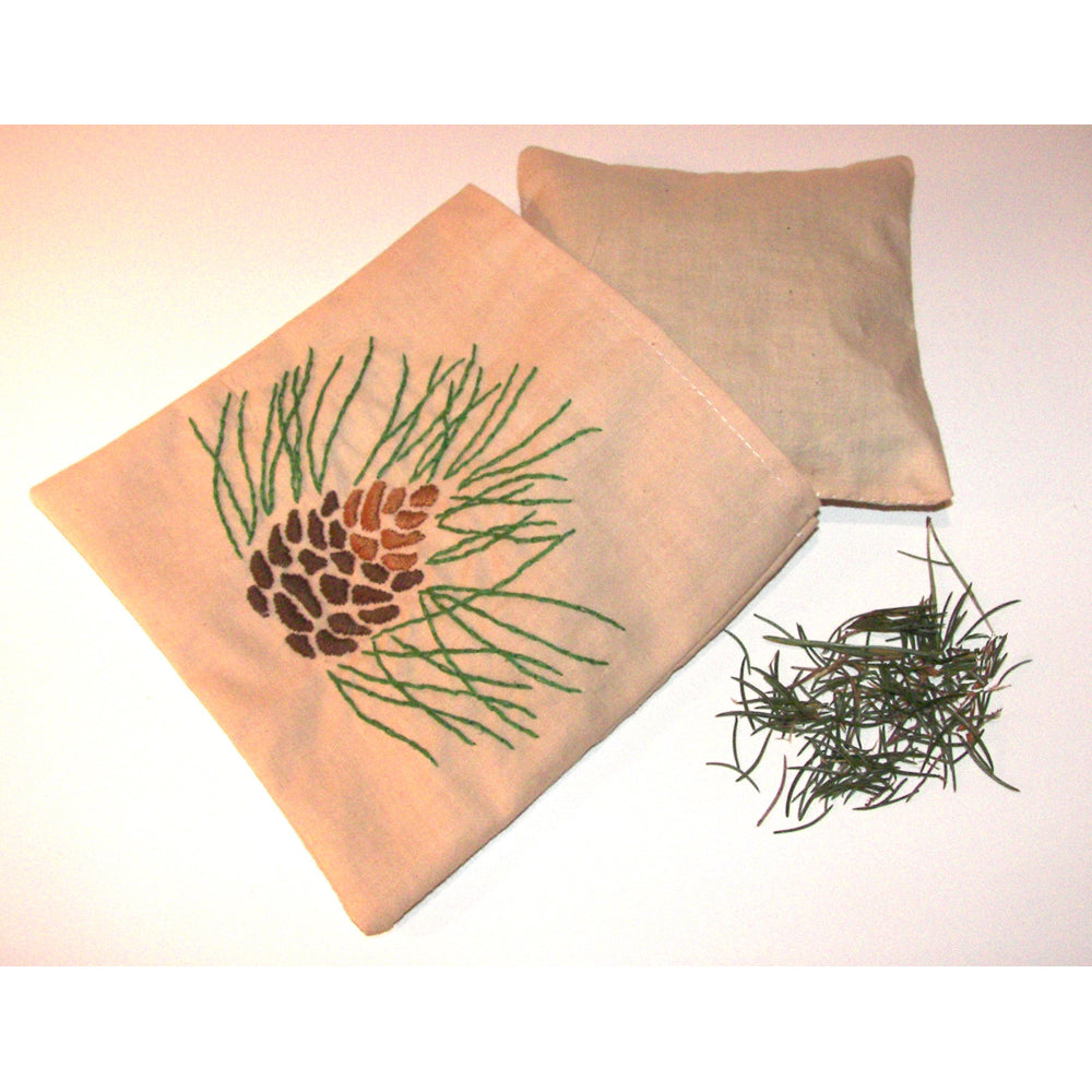 Pine needle Pillow Sachet Project