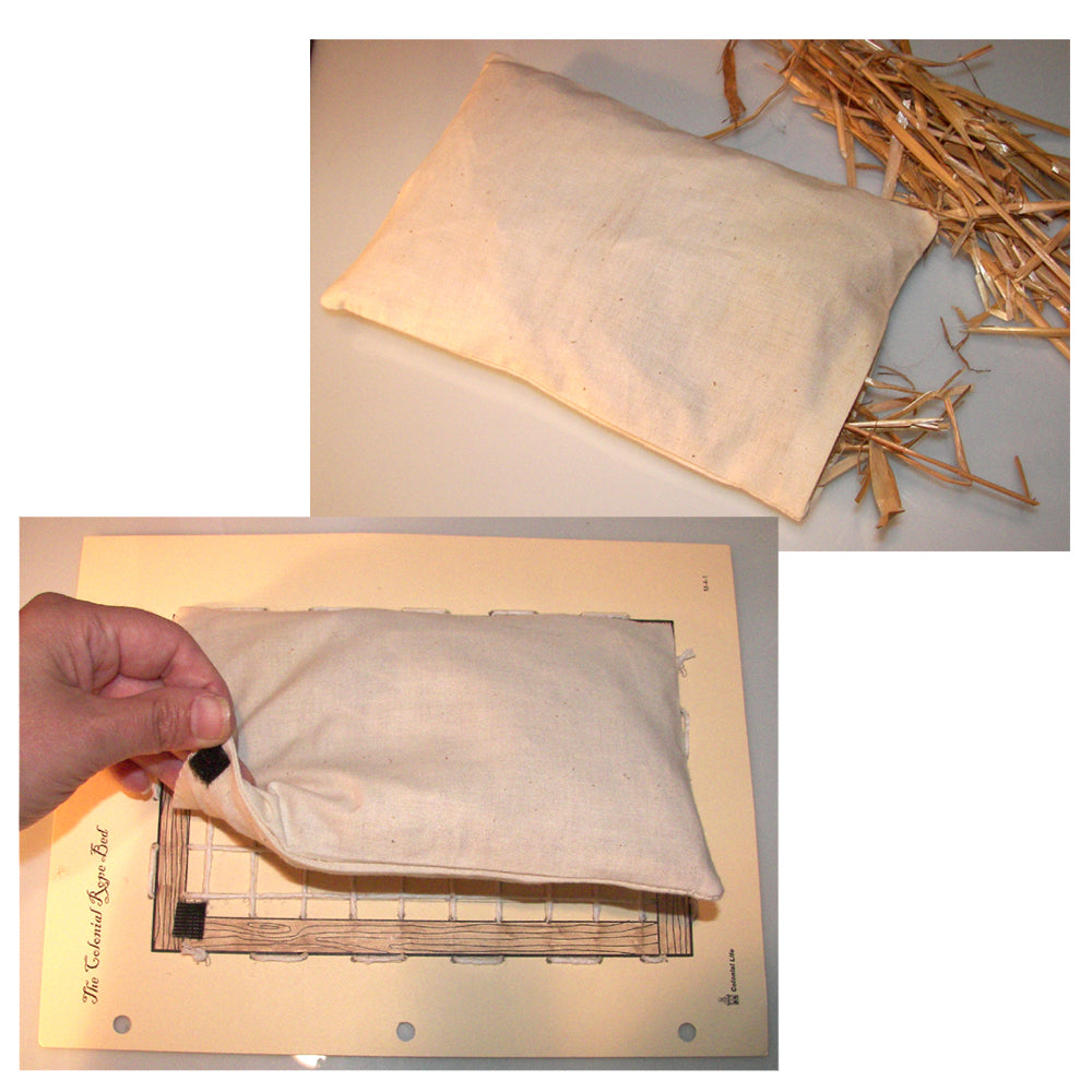 String a Rope Bed and Make a Straw Mattress Notebooking Project