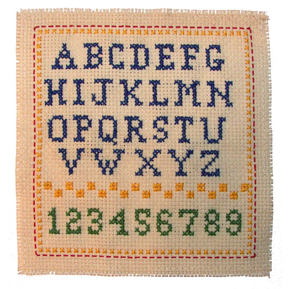 Cross stitch a Sampler Project