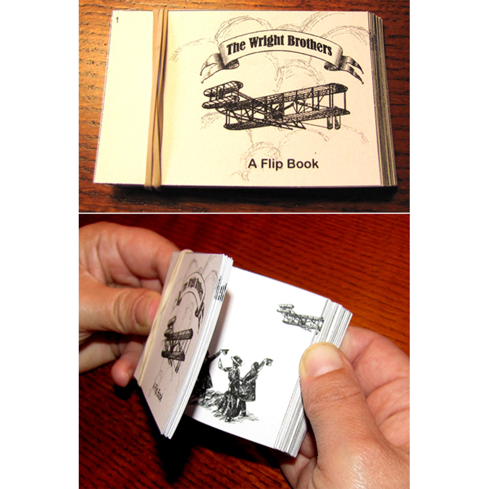 "Make a Wright Brothers ""Flip Book"" Project"