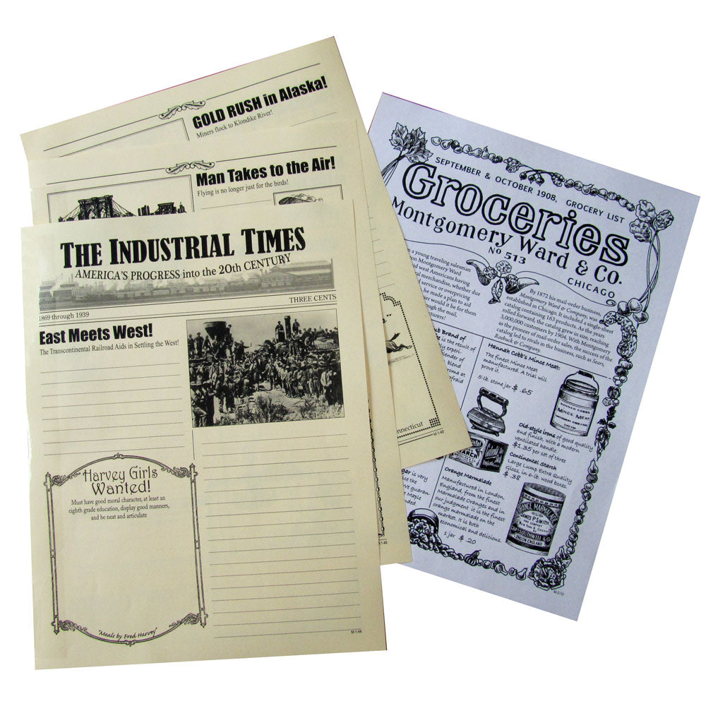 """The Industrial Times"" Creative Writing Newspaper"