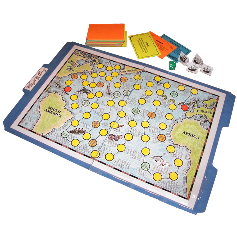 """High & Dry"" File Folder Game"