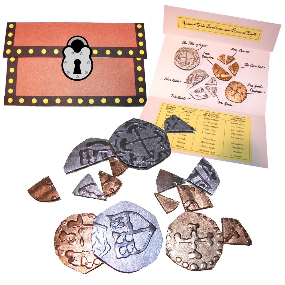Gold Doubloons & Pieces of Eight Lap Book Project