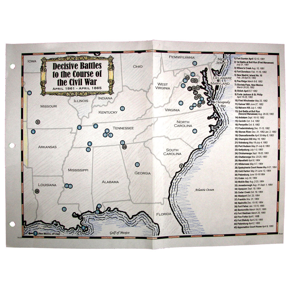 Civil War Battles Mapping Project