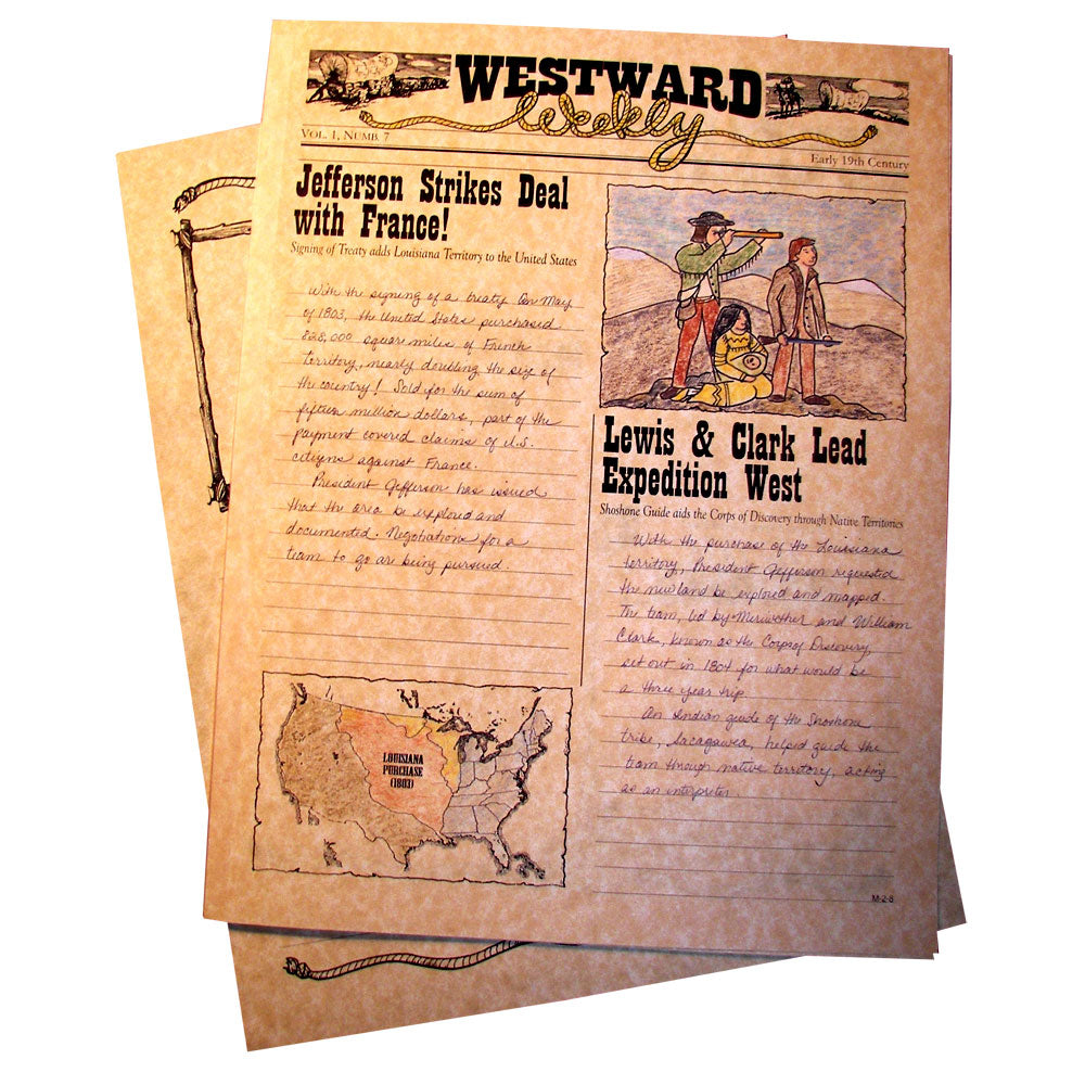 """Westward Weekly"" Creative Writing Newspaper"