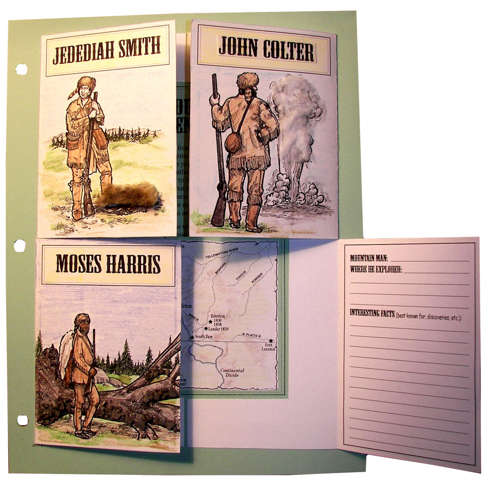 Mountain Men Notebooking Project