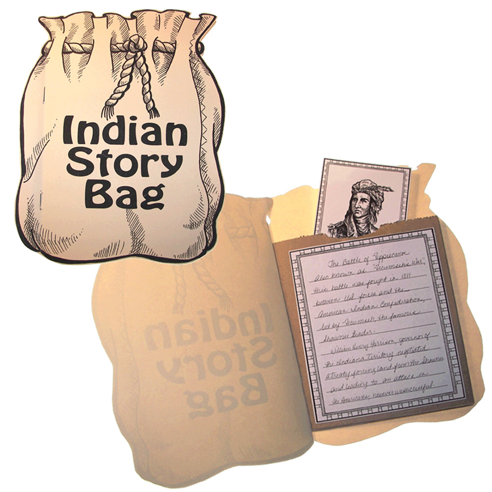 Indian Story Bag Lap Book Project