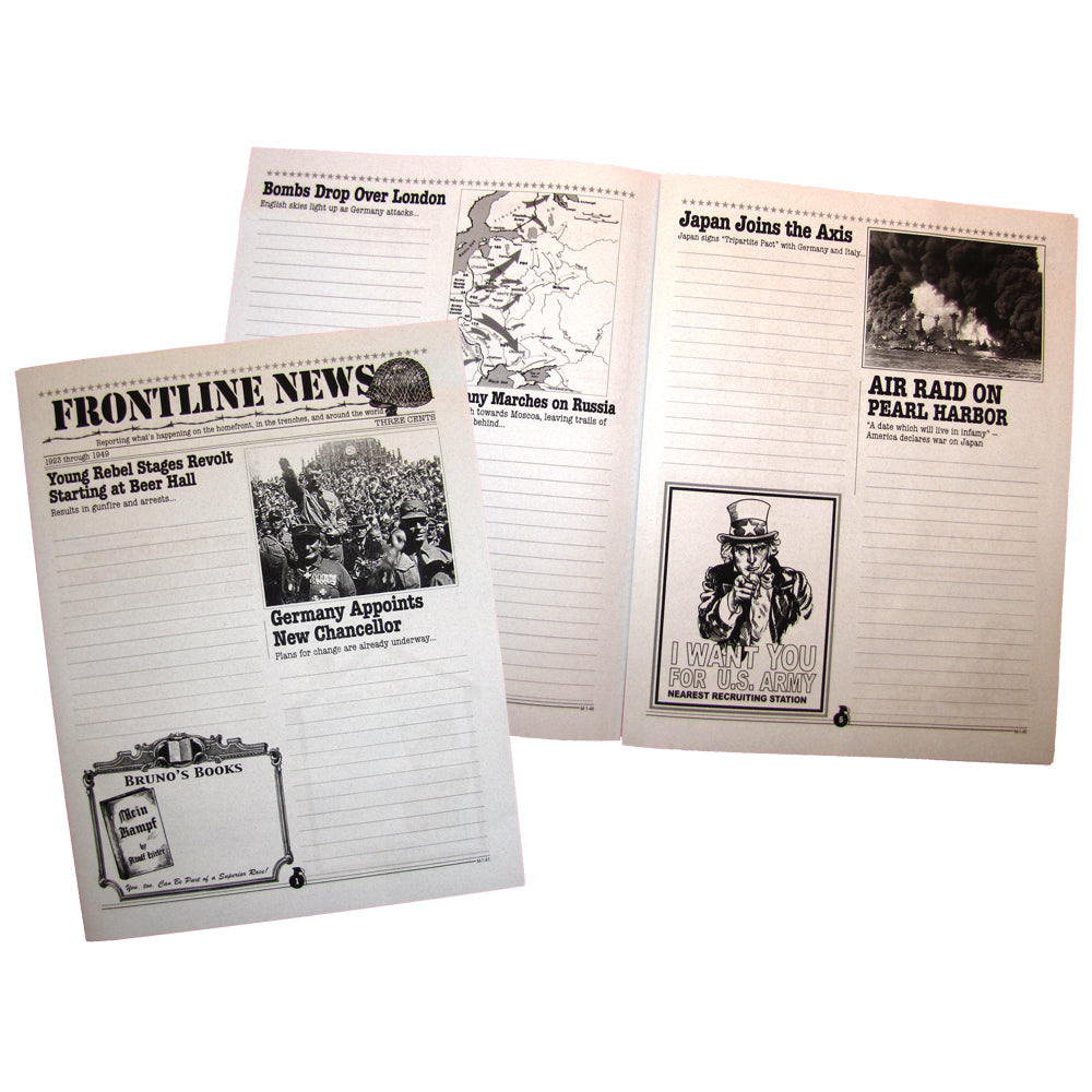"""Frontline News"" Creative Writing Newspaper"