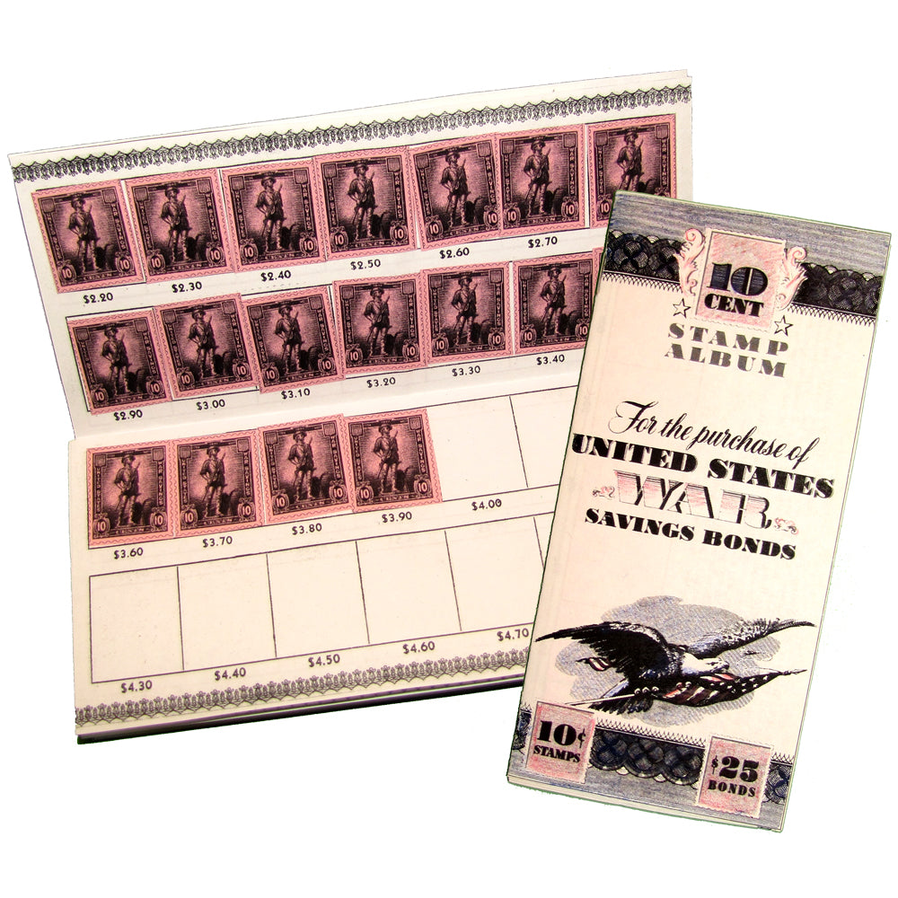 Savings Bond Stamp Album Lap Book Project