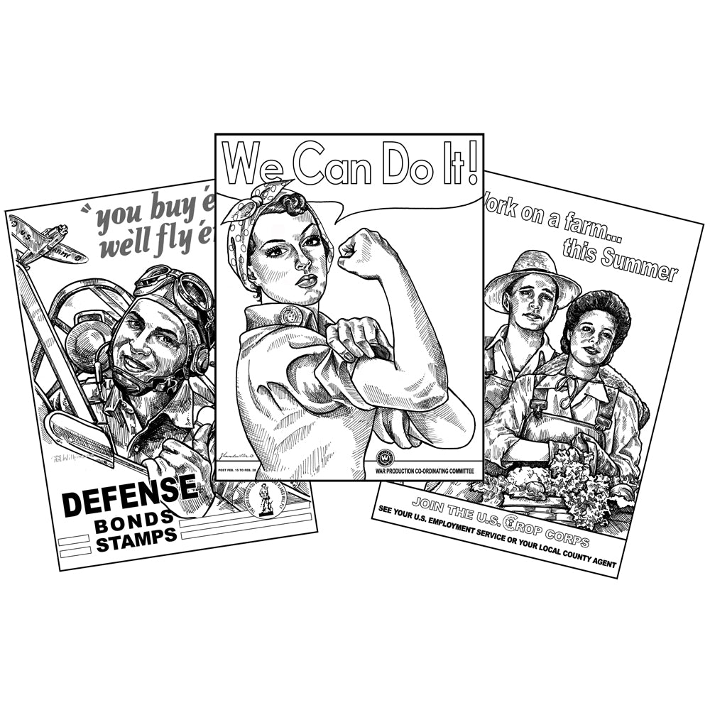 Propaganda Posters Notebooking Projects