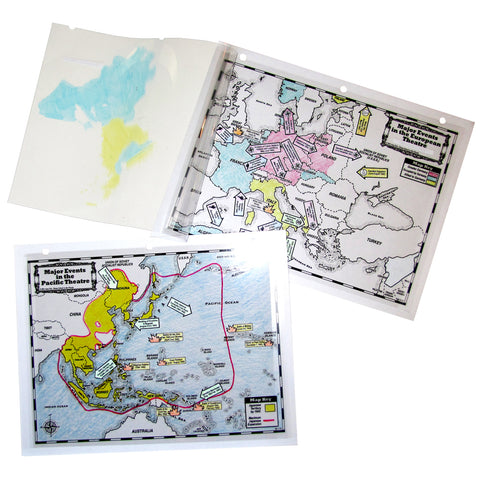 Maps of the European and Pacific Theatres Notebooking Project