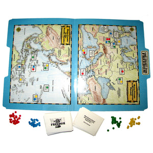"""The Fight for Freedom"" File Folder Game"