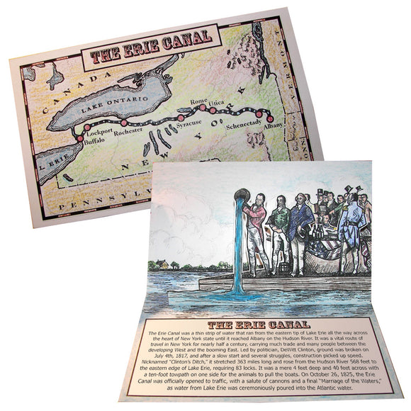 The Erie Canal Lap Book Project