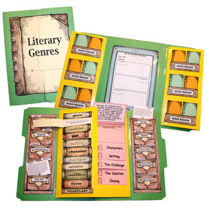 Literary Genres Lap Book Mini-Study