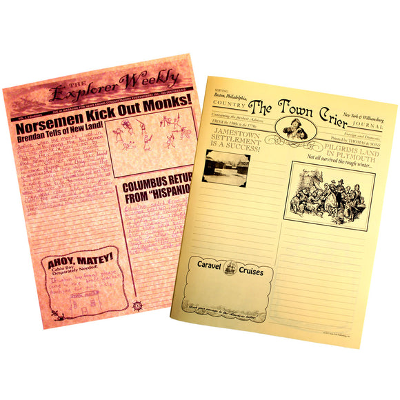 American Beginnings Creative Writing Newspaper Collection (Explorers through the Colonial Era)