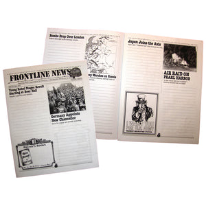 """Frontline News"" World War II Creative Writing Newspaper"