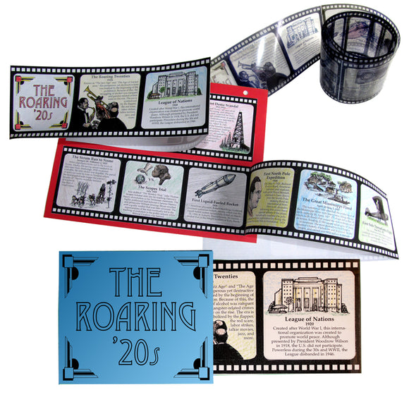 The Roaring 20s Lap Book/Notebook Project