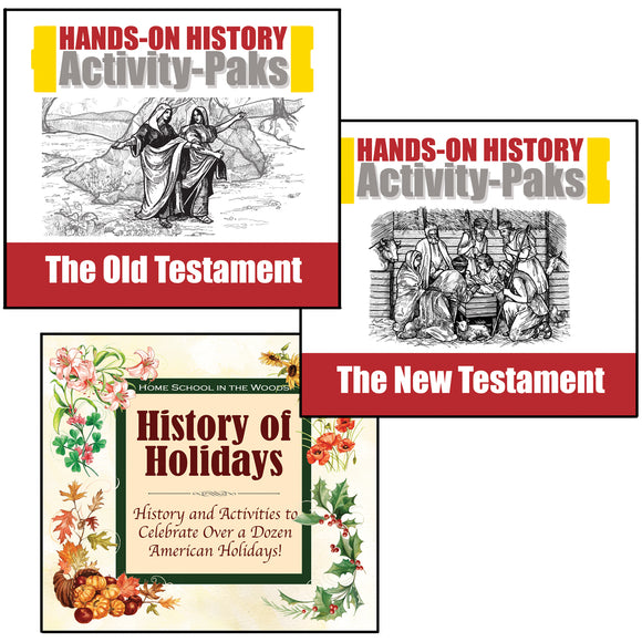 Black Friday/Cyber Monday Special: Bible and Holiday Treasury: Old Testament, New Testament, History of Holidays (Retail Value: $59.85/$56.85*)