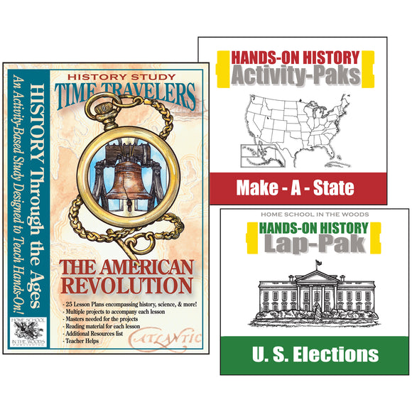 Hands on Revolutionary War, U.S. Elections, State history