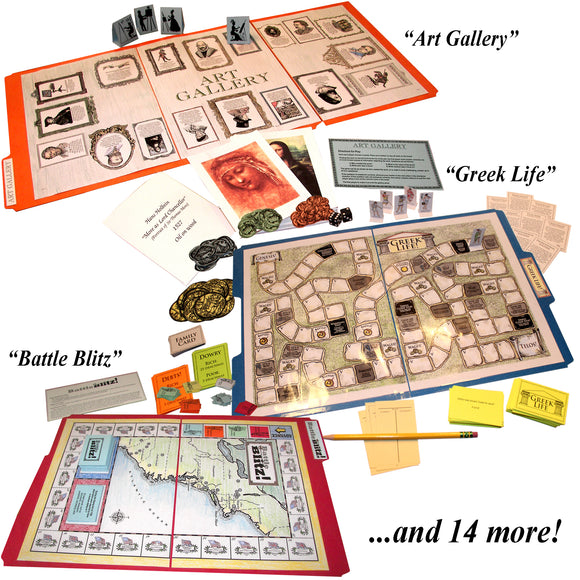 Black Friday/Cyber Monday Special: Ultimate File Folder Game Library (Retail Value: $87.15*)