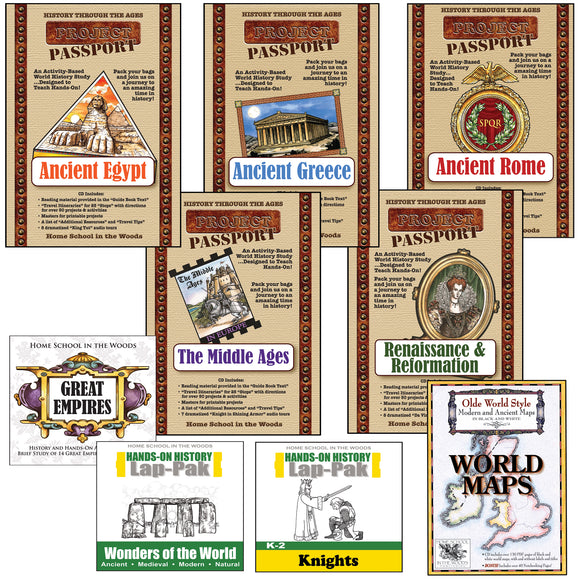 Online Convention Season Special: World History Mega-Bundle (Retail Value: $236.55/$245.55*)