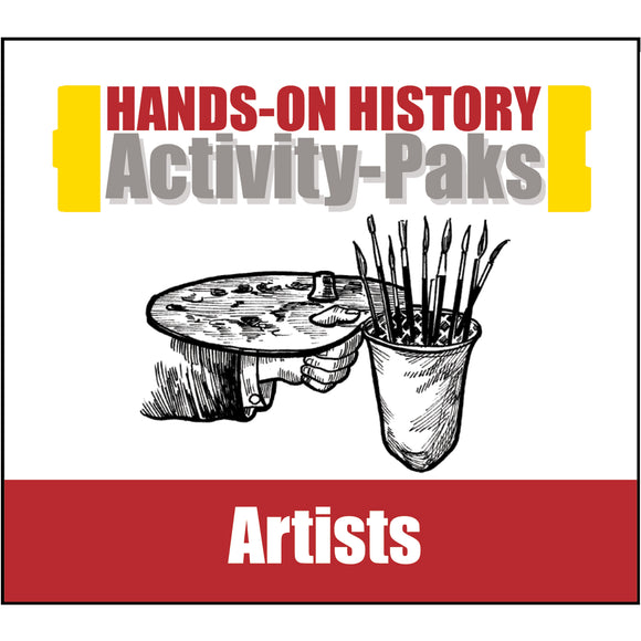 HISTORY Through the Ages Hands-On History Activity-Paks: Artists