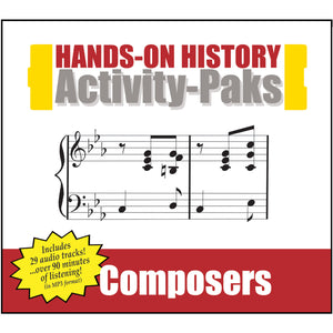 HISTORY Through the Ages Hands-On History Activity-Paks: Composers