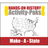 HISTORY Through the Ages Hands-On History Activity-Paks: Make-A-State