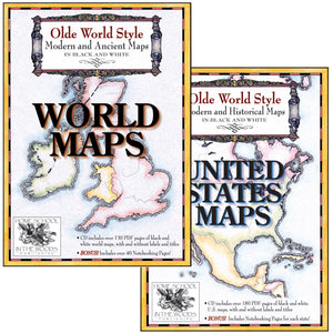 Maps Combo-Pak (US & World Maps)