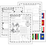 World Geography Notebooking Pages