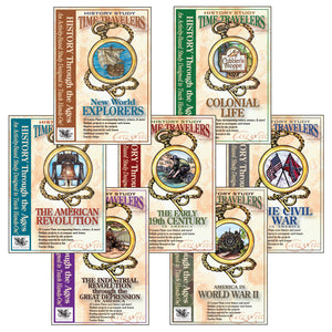 Time Travelers Bundle (all 7 U.S. history studies)