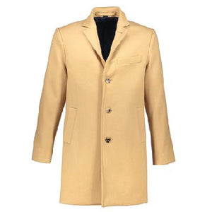 Washington Topcoat in Camel Wool-Cashmere
