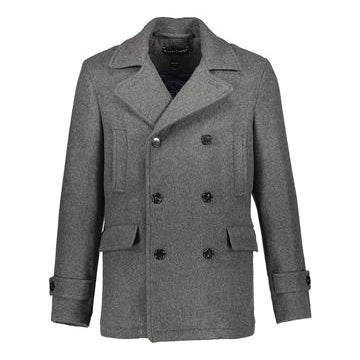 Madison Peacoat in 100% Cashmere
