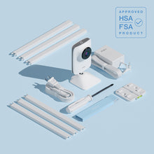 HSA and FSA approved Mikucare Smart Baby Monitor with Breathing and Movement what is included in the box