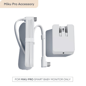 Power Supply for Miku Pro Smart Baby Monitor